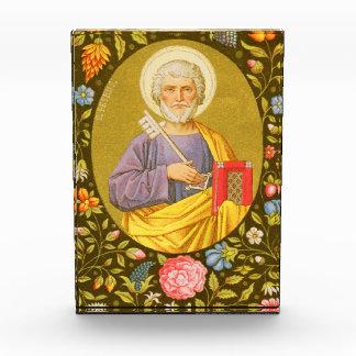 San Pedro la placa vertical #2 del apóstol (P.M.