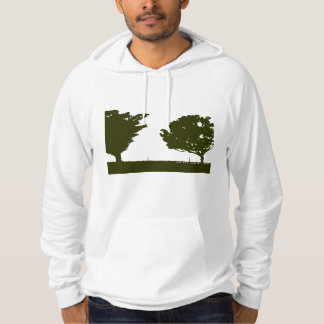 San Pedro Paseo Trees Fitted Hoodie