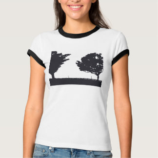 San Pedro Paseo Trees Ringer T-Shirt