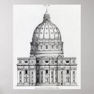 San Pedro, Roma Póster