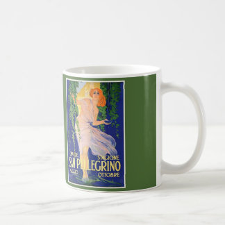 San Pellegrino Vintage Ad Coffee Mug