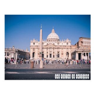 San Pietro Basilica in Vatican City Postcard