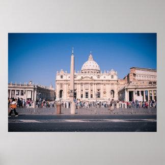 San Pietro Basilica in Vatican City Print