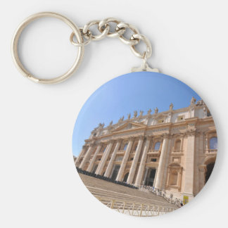 San Pietro basilica in Vatican, Rome, Italy Keychain