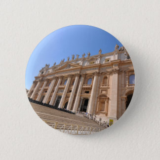 San Pietro basilica in Vatican, Rome, Italy Pinback Button