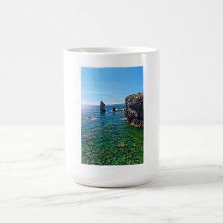 San Pietro island - Le Colonne Coffee Mug