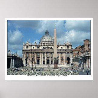 San Pietro - ROMA Print