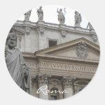 San Pietro Round Sticker
