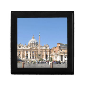 San Pietro square in Vatican, Rome, Italy Jewelry Box