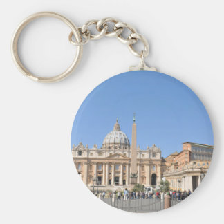 San Pietro square in Vatican, Rome, Italy Keychain