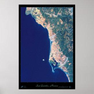 San Quintin, Baja California satellite poster