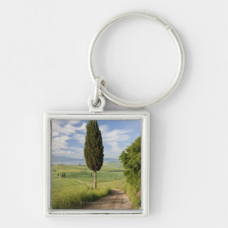 San Quirico d'orcia, Val d'orcia, Tuscany, Italy Keychain
