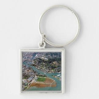 San Rafael Aerial Photograph Keychain