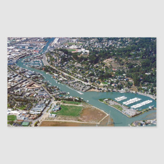 San Rafael Aerial Photograph Stickers