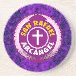 San Rafael Arcangel Coaster