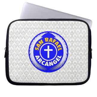 San Rafael Arcangel Computer Sleeve