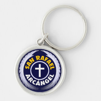 San Rafael Arcangel Keychain
