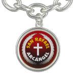 San Rafael Arcangel Pulsera Con Dije