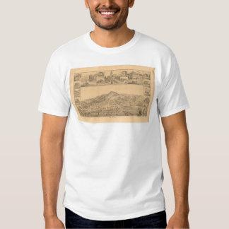 San Rafael, CA. Panoramic Map (1576A) Tee Shirt