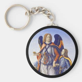 San Rafael Saint Raphael Keychain