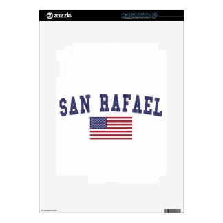 San Rafael US Flag Decals For iPad 2