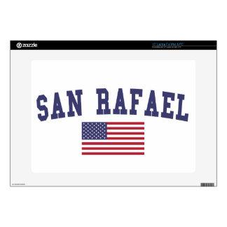 San Rafael US Flag Decals For Laptops