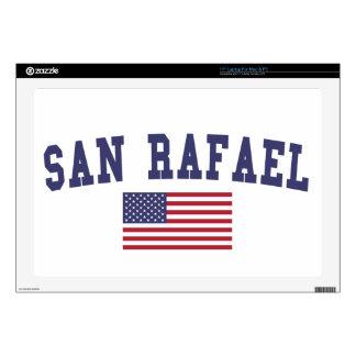 San Rafael US Flag Laptop Skin