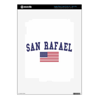 San Rafael US Flag Skin For iPad 3