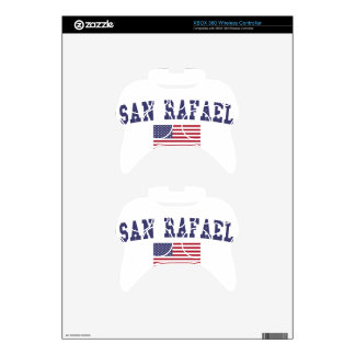 San Rafael US Flag Xbox 360 Controller Skin