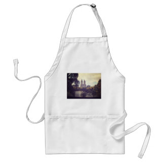 San Remo and The Central Park Lake, New York City Adult Apron