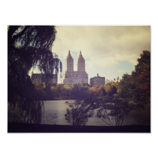 San Remo and The Central Park Lake, Small Poster