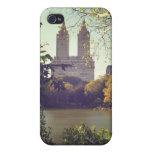 San Remo enmarcó por los árboles, Central Park, NY iPhone 4 Carcasas