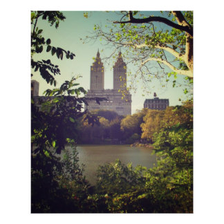 San Remo Framed By Trees, Central Park, All Sizes Poster