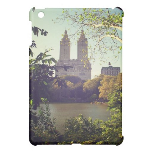 San Remo Framed By Trees, Central Park, NYC iPad Mini Covers