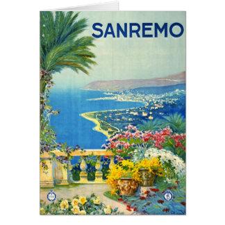 San Remo Italy 1920 Card