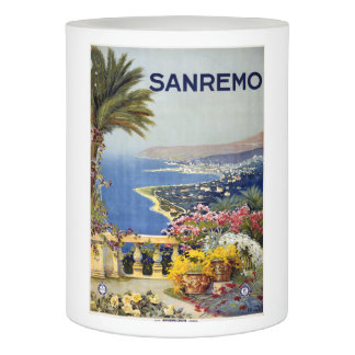 San Remo Italy Vintage Travel LED candle