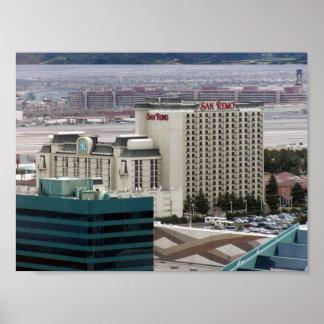 San Remo Las Vegas Poster