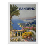 San Remo Poster