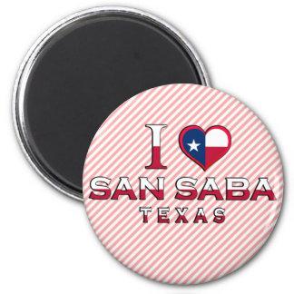 San Saba Tejas Imán