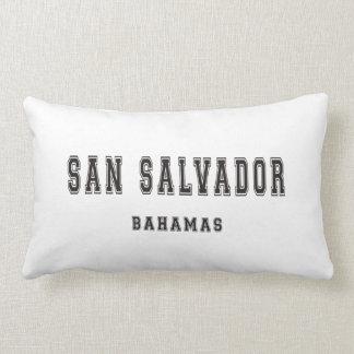 San Salvador Bahamas Lumbar Pillow