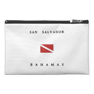 San Salvador Bahamas Scuba Dive Flag Travel Accessories Bags