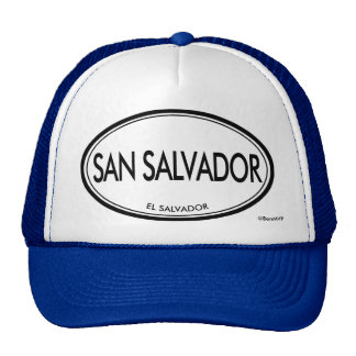 San Salvador, El Salvador Trucker Hat