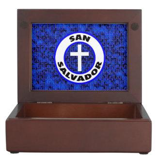 San Salvador Keepsake Box