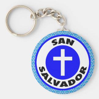 San Salvador Keychain