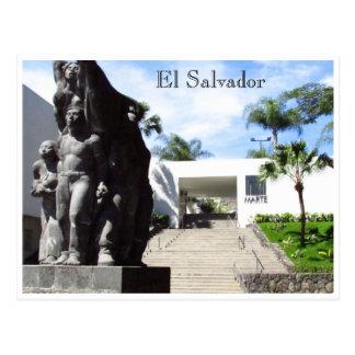 san salvador museo de arte postcard