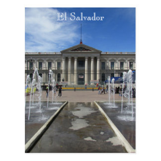 san salvador palace postcard