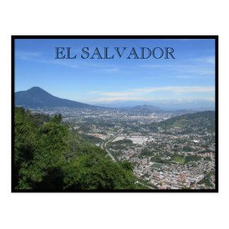 san salvador views postcard