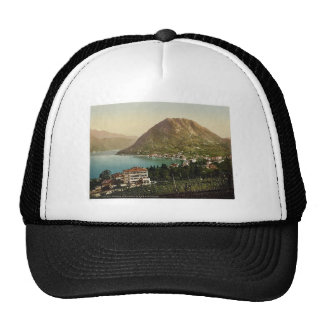 San Salvatore and Paradiso, Tessin, Switzerland cl Trucker Hat
