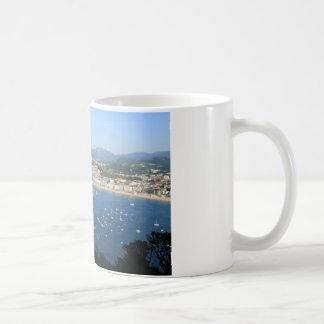 San Sebastian Basque Country Spain scenic view Coffee Mug