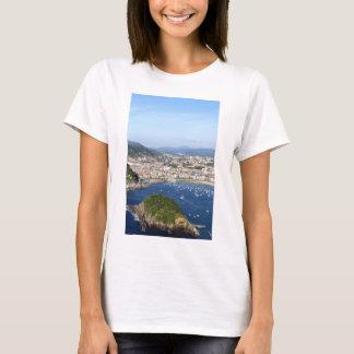 San Sebastian beautiful scenic coastline T-Shirt